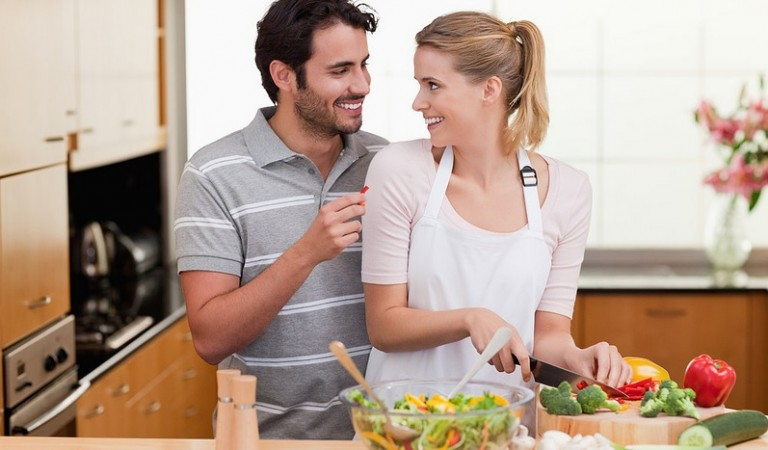 Make the Most of Your New Kitchen with a Romantic Meal for Two, Cooked by Two