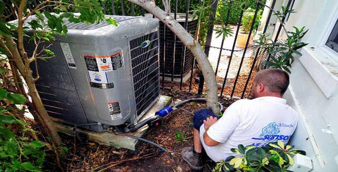 Air conditioner service West Palm Beach
