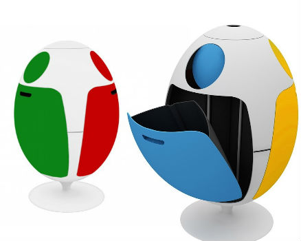 LOVEThESIGN - Soldi Design ­ Ovetto Recycling Bin 2