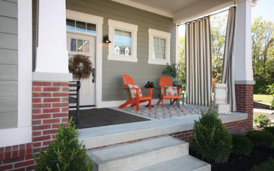5 Ideas for Decorating a Small Porch