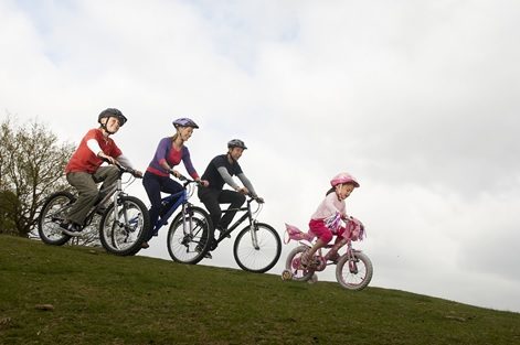 Why it's great to get the family cycling