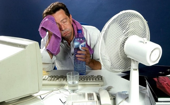 The importance of staying cool at the office in the summer