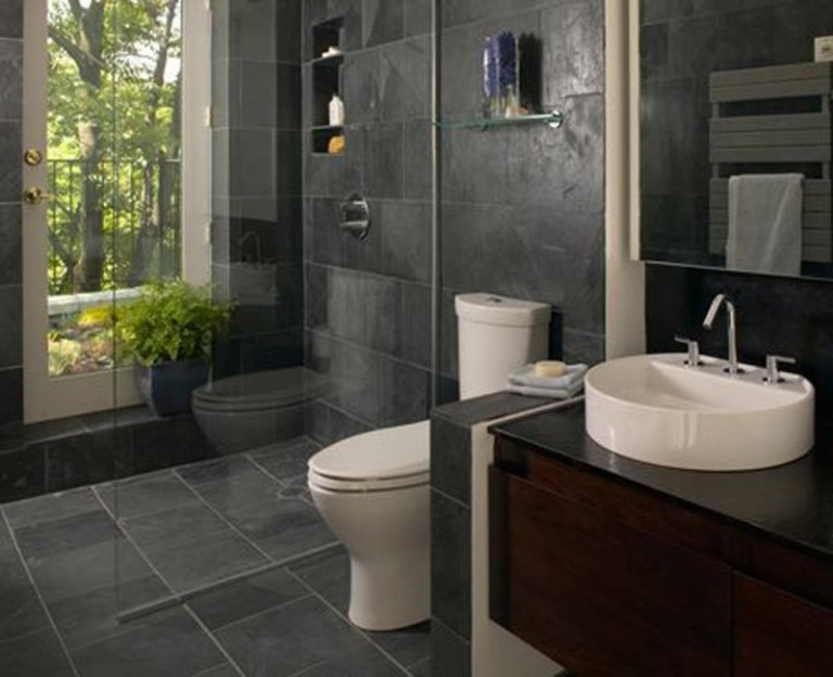 How to Make a Large Bathroom feel Smaller