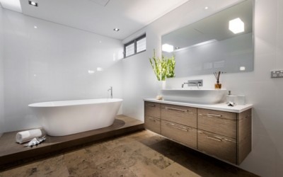 How to add character to create luxury bathrooms