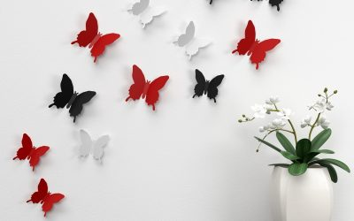 Decorative Wall Stickers are a Cheap Way to Brighten Up A Room